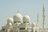architecture stock photography | United Arab Emirates, Abu Dhabi, Sheikh Zayed Mosque, image id 8-730-9690