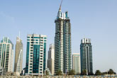 emirates towers stock photography | United Arab Emirates, Dubai, Dubai Marina, construction site, image id 8-730-9868