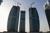 construction cranes stock photography | United Arab Emirates, Dubai, Dubai Marina, construction site, image id 8-730-9892