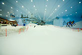 indoor stock photography | United Arab Emirates, Dubai, Ski Dubai, indoor ski area, image id 8-730-9992