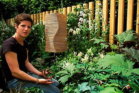 image 3-750-14 England, Chelsea Flower Show, Jane Hudson, landscaper