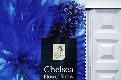 image 3-750-44 England, Chelsea Flower Show, Advertising Banner