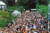 crowd scene stock photography | England, Chelsea Flower Show, Crowd scene, image id 3-750-64