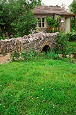 stone houses stock photography | England, Chelsea Flower Show, Yorkshire Forward Garden, image id 3-753-90