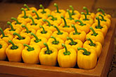 in a row stock photography | Markets, Yellow peppers, image id 3-756-59