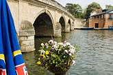 flag stock photography | England, Henley, Bridge over River Thames, image id 4-900-2071