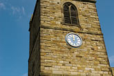 timepiece stock photography | England, North Yorkshire, Kirkbymoorside, All Saints Church, image id 4-900-2186