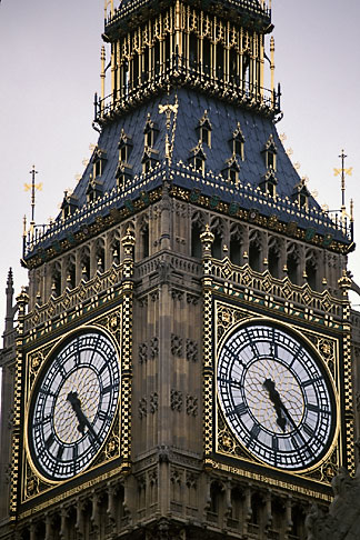 image 7-392-13 England, London, Big Ben, Houses of Parliament