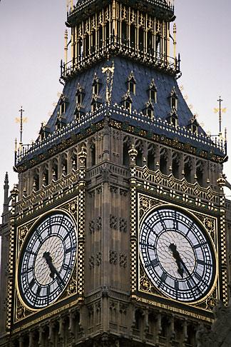 image 7-392-13 England, London, Big Ben, Houses of Parliament