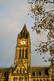 vertical stock photography | England, Manchester, Town Hall, image id 7-695-108