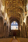 vertical stock photography | England, Chester, Chester Cathedral, Nave, image id 7-695-17