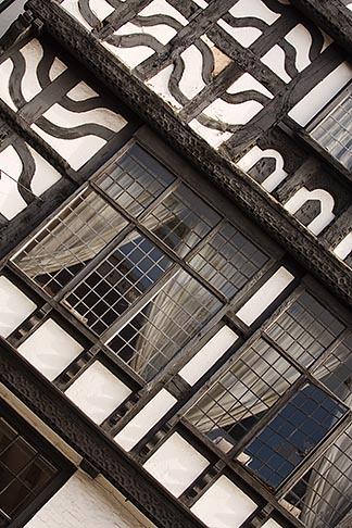 image 7-695-7375 England, Chester, Tudor building