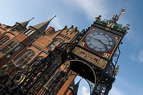 image 7-695-75 England, Chester, Eastgate clock