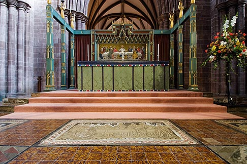 image 7-695-8 England, Chester, Chester Cathedral, High Altar