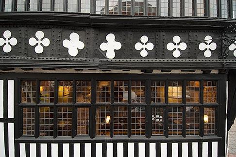 image 7-695-9922 England, Chester, Tudor building facade