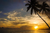 beach stock photography | Fiji, Viti Levu, Sunset near Korotogo, image id 5-610-2800