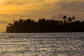 sea stock photography | Fiji, Viti Levu, Sunset near Korotogo, image id 5-610-9308