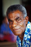 village elder stock photography | Fiji, Ratu (Chief), Nausori village, image id 9-530-60