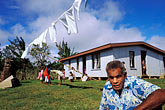 shelter stock photography | Fiji, Ratu (Chief), Nausori village, image id 9-530-61