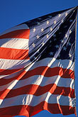 outdoor stock photography | Flags, American Flag in wind, image id 3-277-25