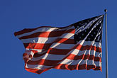 july 4 stock photography | Flags, American flag in wind, image id 3-277-26