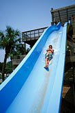 water slide stock photography | Florida, Weeki Wachee Springs, Weeki Wachee Springs, Buccaneer Bay water park, image id 2-466-19
