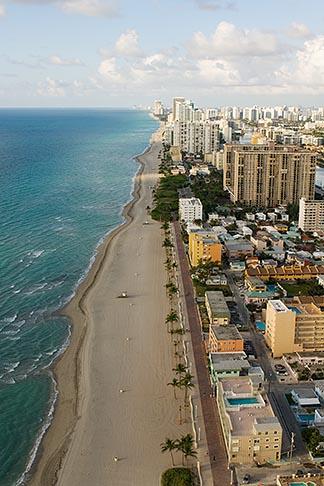 image 7-672-2473 Florida, Miami, Miami Beach, aerial photo