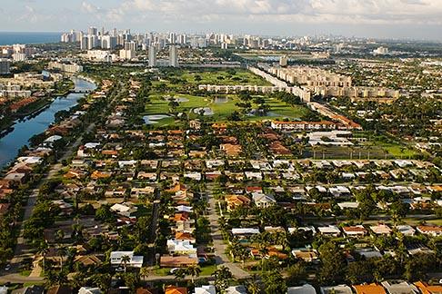 image 7-672-2499 Florida, Miami, North Miami, aerial photo