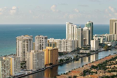 image 7-672-6770 Florida, Miami, Miami Beach, aerial photo