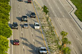 cars on freeway stock photography | Florida, Miami, Cars on freeway, image id 7-672-6838