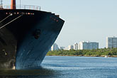 florida stock photography | Florida, Port Everglades, Container ship, image id 7-673-3266