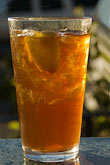 sweet food stock photography | Food and drink, Iced tea in glass, image id 4-775-6153