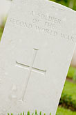 world war stock photography | France, Normandy, Bayeux, Bayeux British War Cemetery and Memorial, image id 6-450-1058