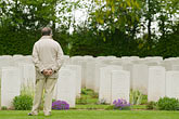 person stock photography | France, Normandy, Bayeux, Bayeux British War Cemetery and Memorial, image id 6-450-1075