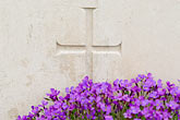 church and cross stock photography | France, Normandy, Bayeux, Bayeux British War Cemetery and Memorial, image id 6-450-1080