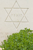 star of david stock photography | France, Normandy, Bayeux, Bayeux British War Cemetery and Memorial, image id 6-450-1086