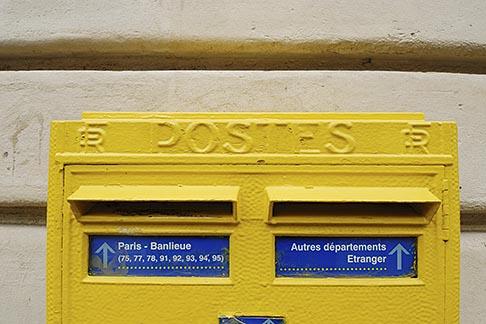 image 6-450-110 France , Letterbox
