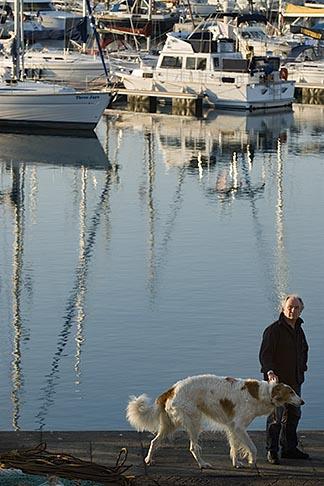 image 6-450-1166 France, Normandy, St Vaast La Hougue, Harbor