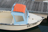 saint vaast la hougue stock photography | France, Normandy, St. Vaast La Hougue, Small boat in harbor, image id 6-450-1189
