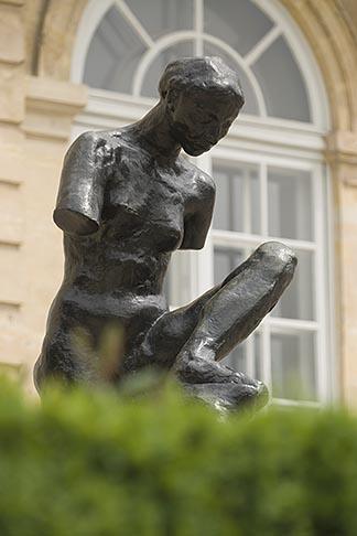 image 6-450-1272 France, Paris, Rodin Museum, La Muse de Whistler