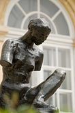 museum stock photography | France, Paris, Rodin Museum, La Muse de Whistler, image id 6-450-1273