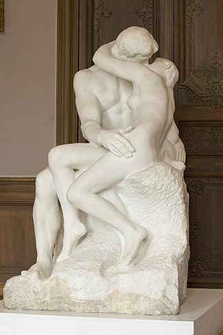 image 6-450-1321 France, Paris, Rodin Museum, The Kiss