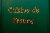 cuisine stock photography | France, Paris, Cuisine de France, image id 6-450-229