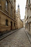 bare back stock photography | France, Paris, Rue St. Etienne de Mont, image id 6-450-232