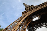 eiffel tower detail stock photography | France, Paris, Eiffel Tower , image id 6-450-360