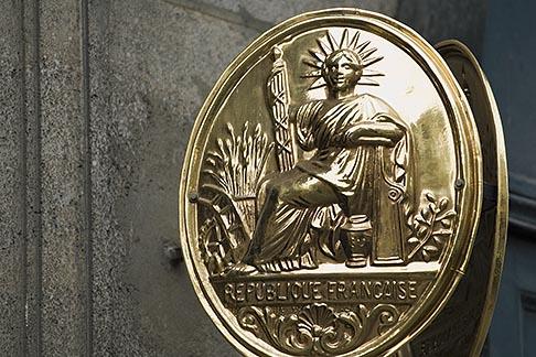 image 6-450-5751 France, Paris, Medallion of Liberte