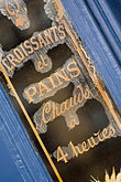 close up stock photography | France, Paris, Patisserie sign, image id 6-450-5846