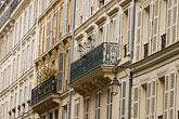 horizontal stock photography | France, Paris, Rue de Sevigne, balconies, image id 6-450-5854