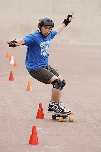 image 6-450-5894 Recreation, Skateboarder