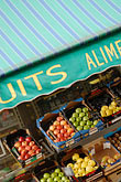 vertical stock photography | France, Paris, Fruit stand, image id 6-450-590